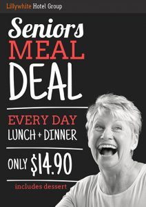 Seniors Meal Deal - Dinner