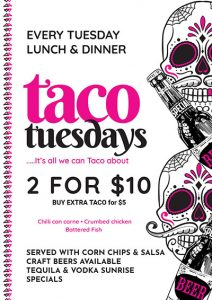 Tuesday Tacos - Lunch